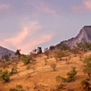 Andalucian Landscape Near Zahara De La Sierra Spain Art Print
