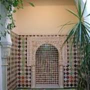 Andalus Mansion In Cordoba Art Print