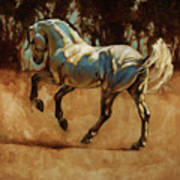 Andalusian Dance I Art Print