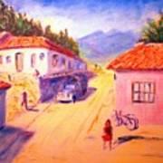 Andean Village Art Print