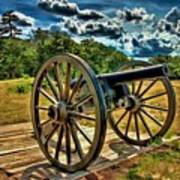 Andersonville Cannon Art Print