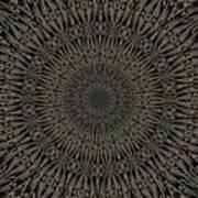 Andoluvium Metal Mandala Art Print