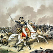 Andrew Jackson At The Battle Of New Orleans Art Print