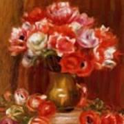 Anemones 1909 Art Print