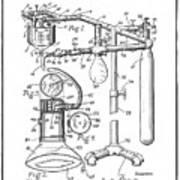 Anesthetic Machine Patent 1919  Art Print