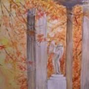Ange  Petit Trianon Versailles Art Print