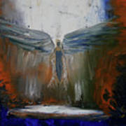 Angel Abstract  Art Print