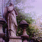 Angel At Old Swedes Art Print