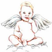 Angel Baby Art Print