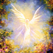 Angel Descending Art Print