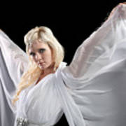 Angel Goddess Art Print