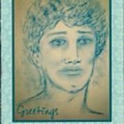 Angel Greetings Art Print