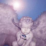 Angel-heart Art Print by Ramon Labusch