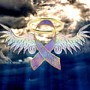 Angel In The Sky Art Print