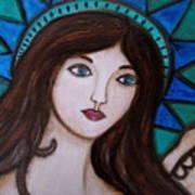 Angel Kim Art Print
