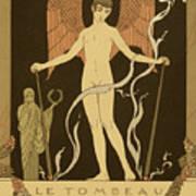 Angel Le Tombeau De Bilitis Art Print