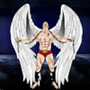 Angel Love 2  Art Print