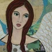 Angel Love Art Print