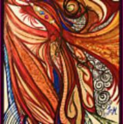 Angel Lucifer Art Print