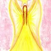 Angel Of Confidence Art Print