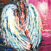 Angel Of Dreams Art Print