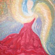 Angel Of Fire Art Print
