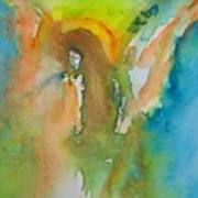 Angel Of Kindness Art Print