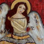 Angel Of Kindness Art Print by Rain Ririn