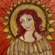 Angel Of Nature Art Print