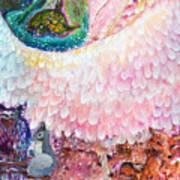 Angel Of Protection  Art Print