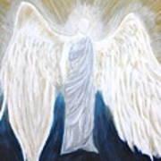 Angel Of Salvation Art Print