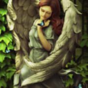 Angel Oriphiel Art Print