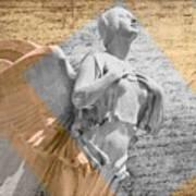 Angel Over  Washington Art Print