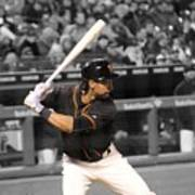 Angel Pagan Art Print