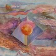 Angel Sphere Art Print