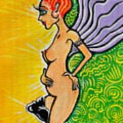 Angel Vibe 3 Art Print by Melissa Wyatt
