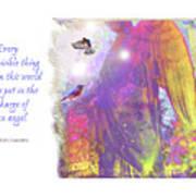 Angel Vision Art Print