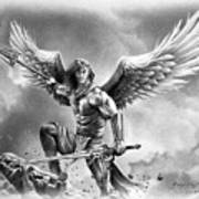 Angel Warrior Art Print