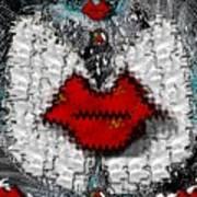 Angel Wings Brings Love And Peace Art Print