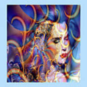 Angelic Beauty Art Print