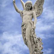 Angelic Peace And Beauty Art Print