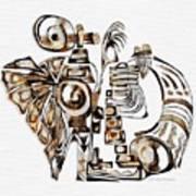 Angelic Tube 3636 Art Print