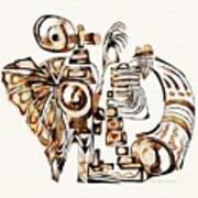 Angelic Tube 3637 Art Print
