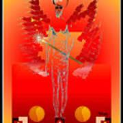Angels - Archangel Sariel Art Print