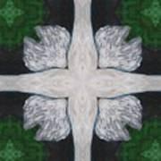 Angel's Cross Art Print