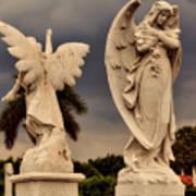 Angels In Havana Art Print