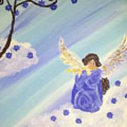 Angel's Melody  Art Print