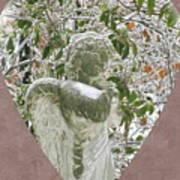 Angels Of The Snow  B Art Print