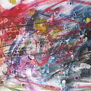 Anger And Pain Art Print