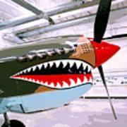 Anger Management Palm Springs Air Museum Art Print
